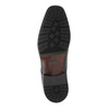 Pánské kožené polobotky bata, černá, 824-6752 - 26