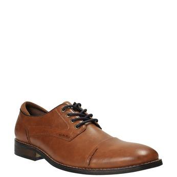 Pánské ležérní polobotky bata, hnědá, 821-3600 - 13
