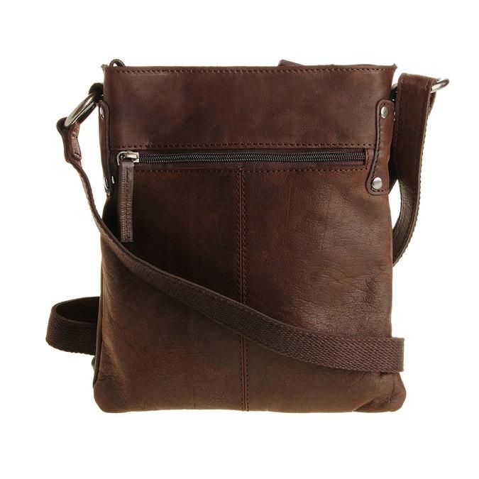 Kožená Crossbody taška bata, hnědá, 964-4113 - 26