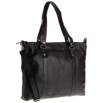 Kožená dámská kabelka bata, černá, 964-6132 - 13
