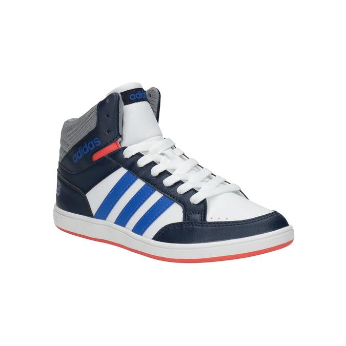 Dětské kotníčkové tenisky adidas, bílá, 401-1231 - 13