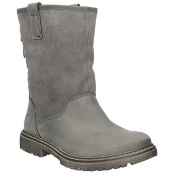 Dámská kožená zimní obuv weinbrenner, 596-0100 - 13