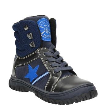 Dětská zimní obuv mini-b, modrá, 411-9602 - 13