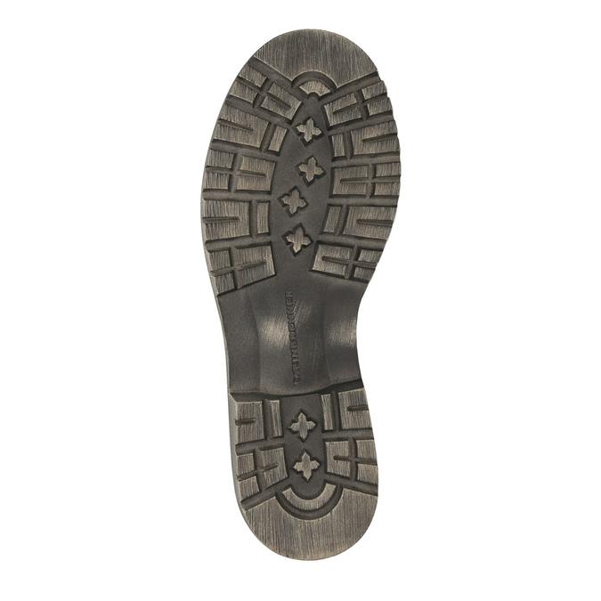 Dámská kožená zimní obuv weinbrenner, 596-0100 - 26