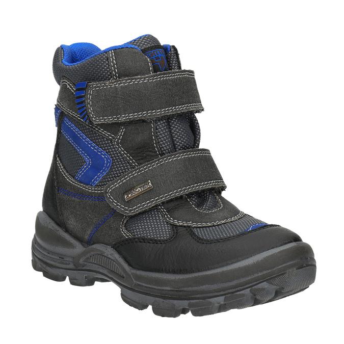 Dětská zimní obuv mini-b, černá, 499-6103 - 13