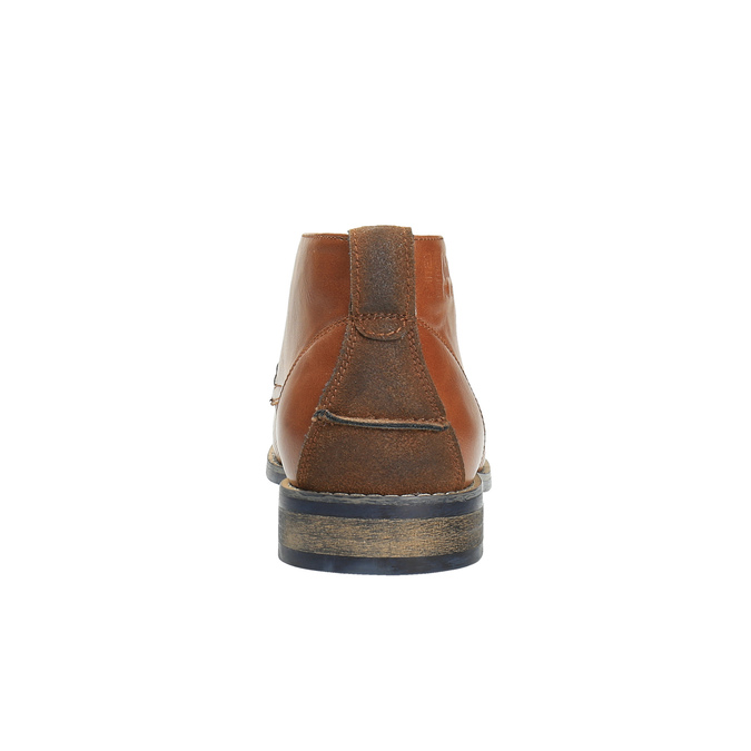 Ležérní kotníčkové polobotky hnědé bata, hnědá, 891-3600 - 17
