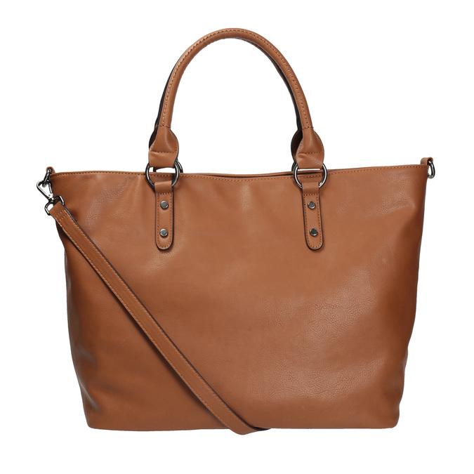 Hnědá dámská kabelka bata, hnědá, 961-3857 - 19