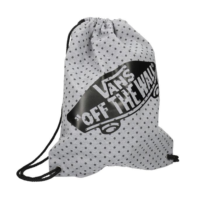 Městský textilní batoh s puntíky vans, šedá, 969-2010 - 13