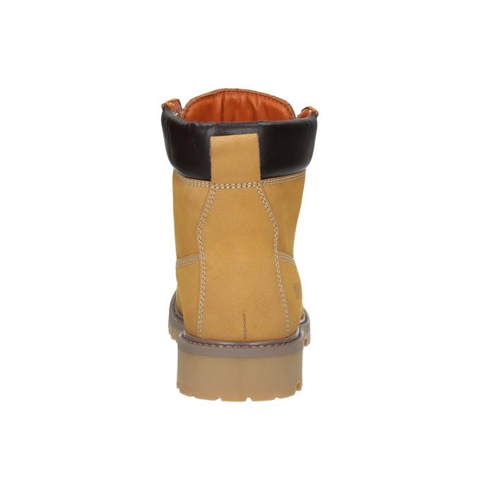 Kožená dámská obuv weinbrenner, hnědá, 596-8629 - 17
