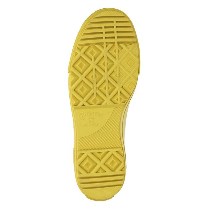 Žluté kotníčkové tenisky dámské converse, žlutá, 541-8080 - 26