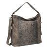 Dámská kabelka s krokodýlím vzorem gabor-bags, bílá, 961-1014 - 13