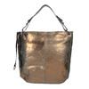 Zlatá kožená kabelka gabor-bags, zlatá, 966-8001 - 26