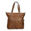 Dámská kabelka s asymetrickým zipem bata, hnědá, 961-3847 - 19