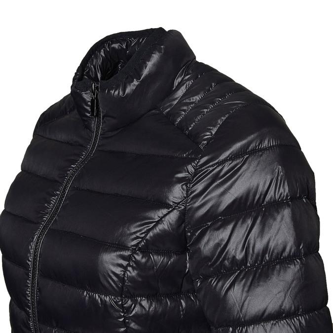 Černá bunda s prošíváním bata, černá, 979-6637 - 16
