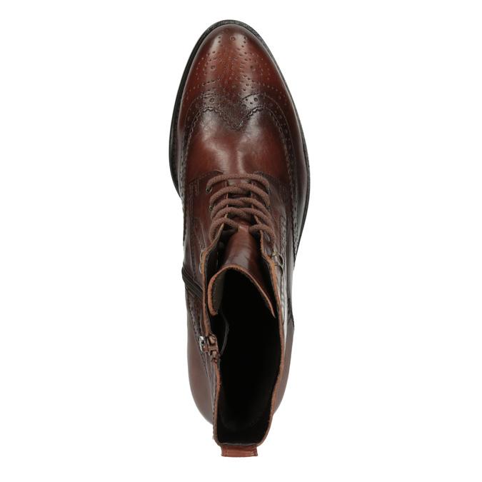 Dámská kotníčková obuv gabor, hnědá, 694-3003 - 19