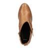 Kotníčkové kozačky v Etno stylu bata, hnědá, 599-4604 - 19
