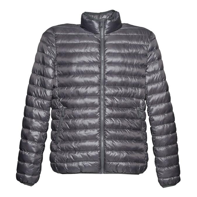 Pánská bunda s prošíváním bata, šedá, 979-2613 - 13