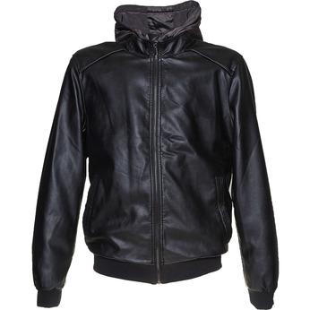 Pánská bunda s kapucí bata, černá, 971-6178 - 13