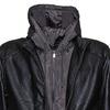 Pánská bunda s kapucí bata, černá, 971-6178 - 16