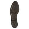 Dámské kožené kozačky bata, hnědá, 596-3608 - 26