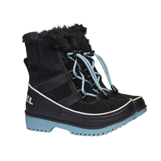 Kids shoes sorel, černá, 493-6006 - 26