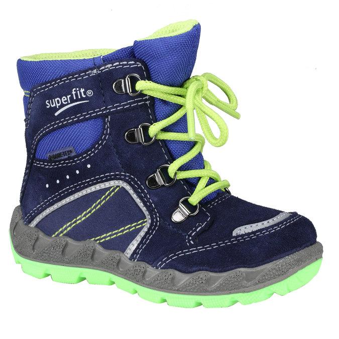 Kotníkové zimní boty šněrovací superfit, fialová, 193-9001 - 13