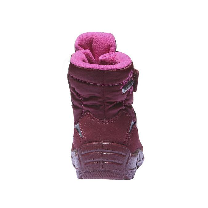 Dětská kotníčková obuv richter, červená, 199-5004 - 17