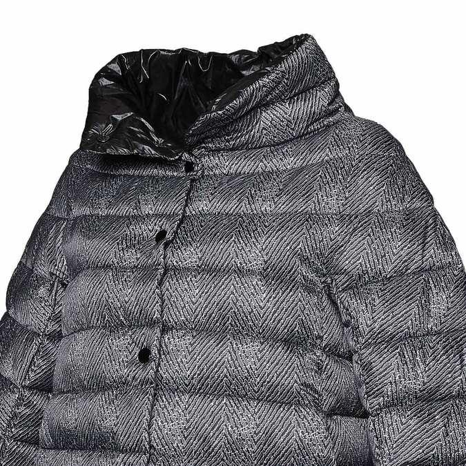 Dámská bunda s prošíváním bata, černá, 979-6647 - 16