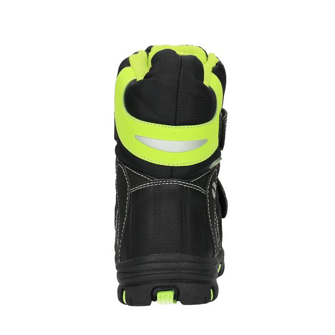 Dětská obuv se zateplením mini-b, černá, 291-6601 - 17