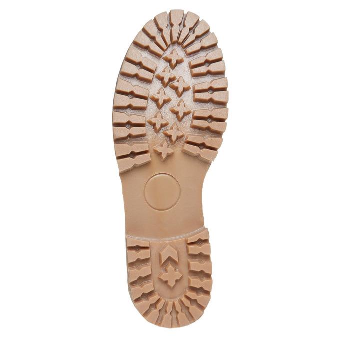 Dámská kožená zimní obuv weinbrenner, hnědá, 594-8491 - 26