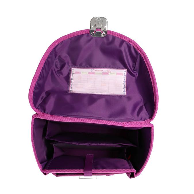 Růžová dětská aktovka belmil, růžová, 969-5623 - 15