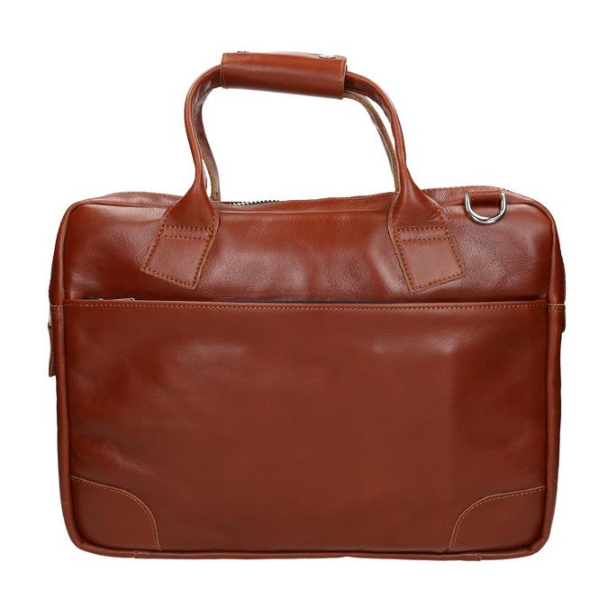 Kožená unisex taška royal-republiq, hnědá, 964-3003 - 26
