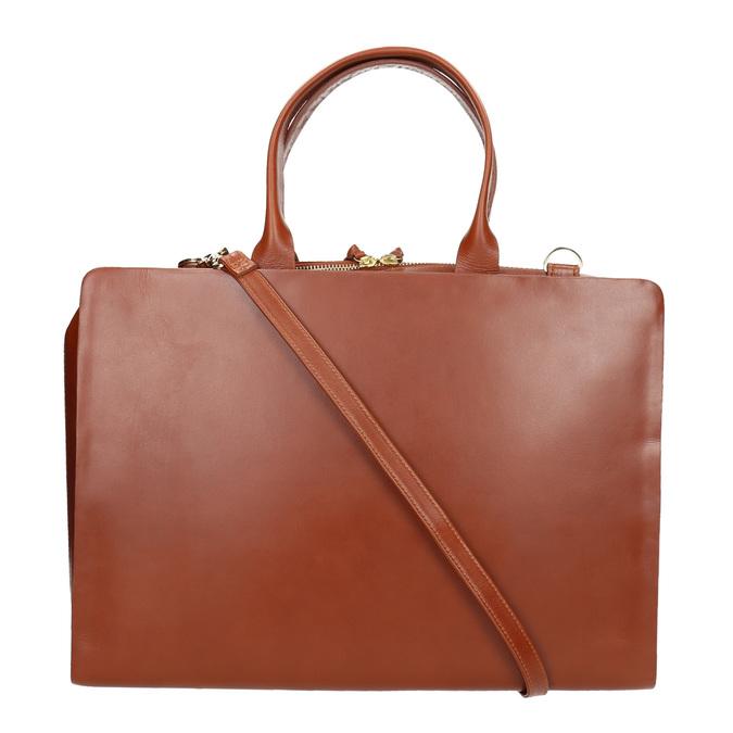 Dámská kožená kabelka royal-republiq, hnědá, 964-3002 - 19