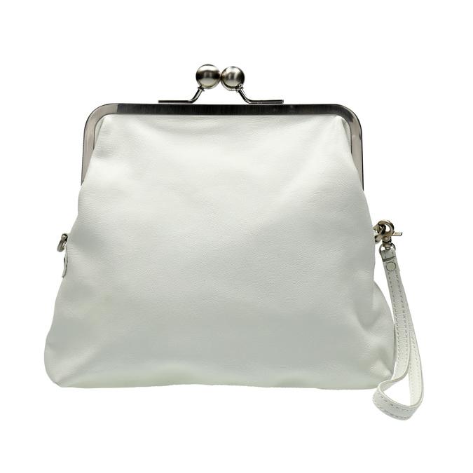 Dámská kožená kabelka sticksandstones, bílá, 964-1020 - 26