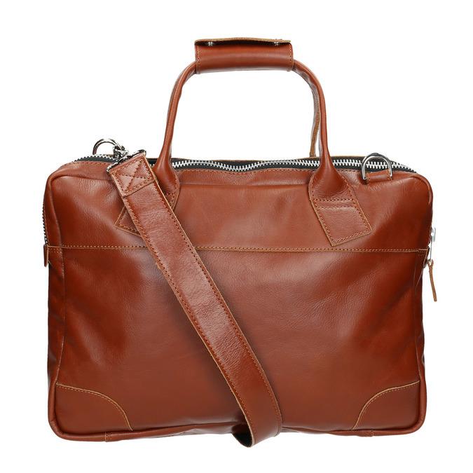 Kožená unisex taška royal-republiq, hnědá, 964-3003 - 19
