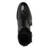 Kožená obuv s přezkami bata, černá, 894-6683 - 19