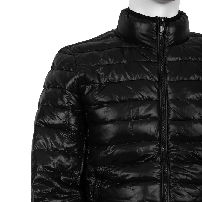 Prošívaná pánská bunda bata, černá, 979-6613 - 14