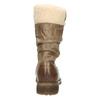 Dětské kožené kozačky mini-b, hnědá, 394-4191 - 17