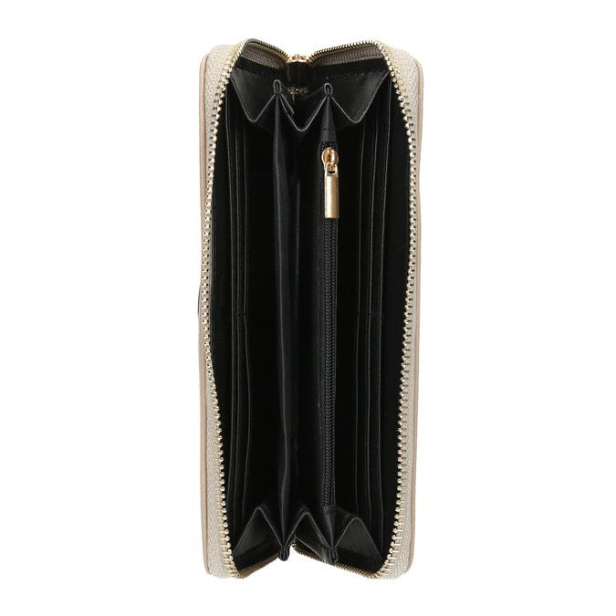 Elegantní peněženka s ozdobou bata, béžová, 941-8150 - 15