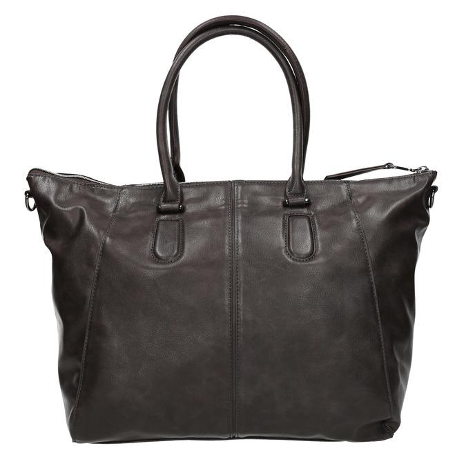 Elegantní dámská kabelka bata, šedá, 961-2846 - 26