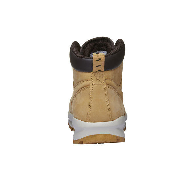 Pánská kožená kotníčková obuv nike, žlutá, 806-8435 - 16