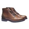 Ležérní kožená obuv bata, hnědá, 894-3555 - 26