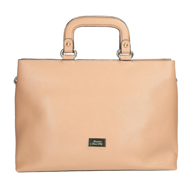 Dámská kabelka do ruky bata, béžová, 961-8627 - 19