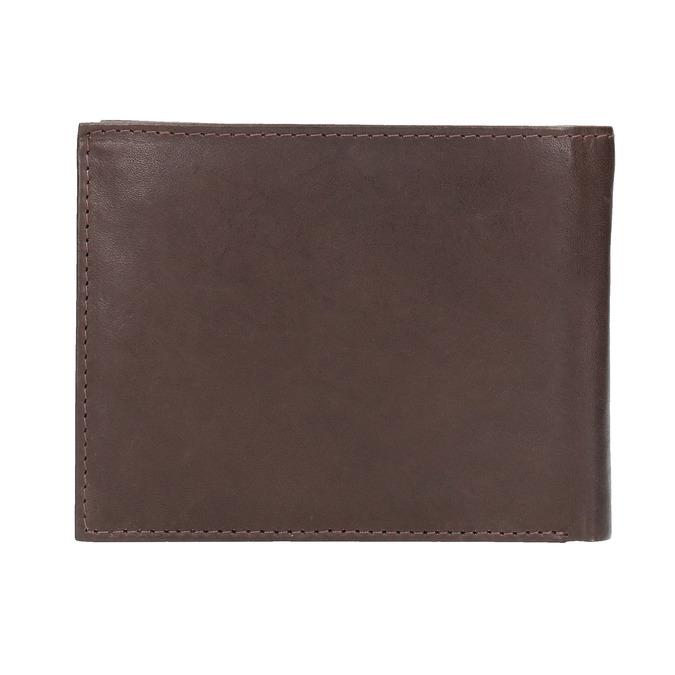 Pánská kožená peněženka bata, hnědá, 944-4171 - 19