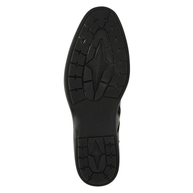 Kožená pánská obuv ke kotníkům bata, hnědá, 894-4671 - 26