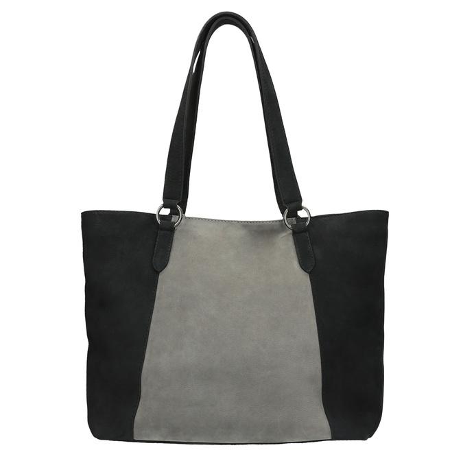 Dámská kožená kabelka bata, černá, 966-6200 - 19