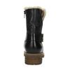Dámská obuv s kožíškem bata, černá, 594-6609 - 17