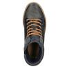 Kožené kotníčkové tenisky se zateplením bata, šedá, 896-2651 - 19