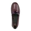 Dámské kožené Slip-on vínové flexible, červená, 514-5252 - 19