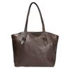 Dámská kožená kabelka hnědá bata, hnědá, 964-4205 - 19